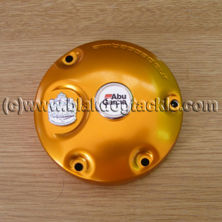 Abu 6500 Orange Power Handle CS Left Side Plate
