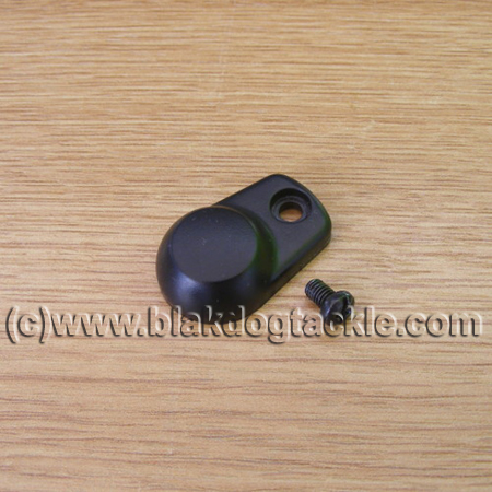 ABU Ambassadeur Black Plastic Handle Nut Cover and Screw