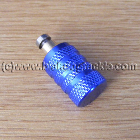 Custom Anodized Akios Mag Adjuster Knob – Blue