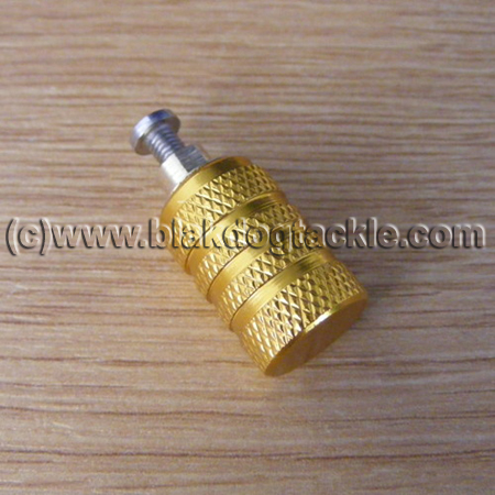 Custom Anodized Akios Mag Adjuster Knob – Gold