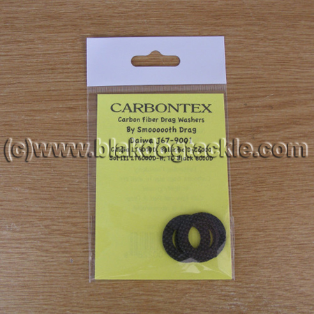 Carbontex Drag Washer Kit - Daiwa Spinner J67-9001