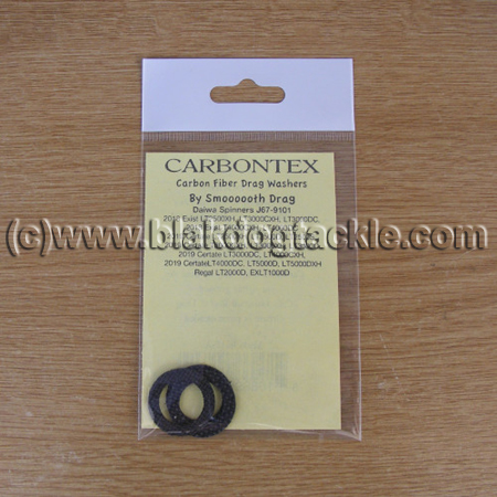 Carbontex Drag Washer Kit - Daiwa Spinner J67-9101