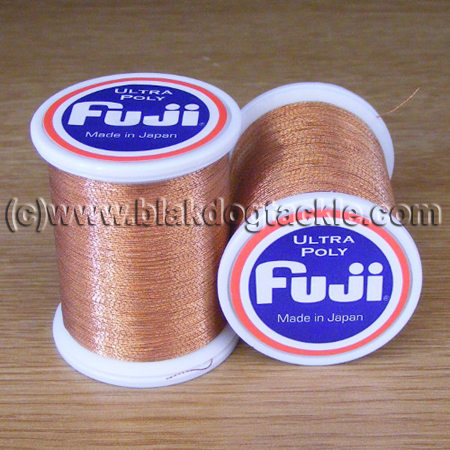 Fuji Ultra Poly Metallic Thread A - Copper