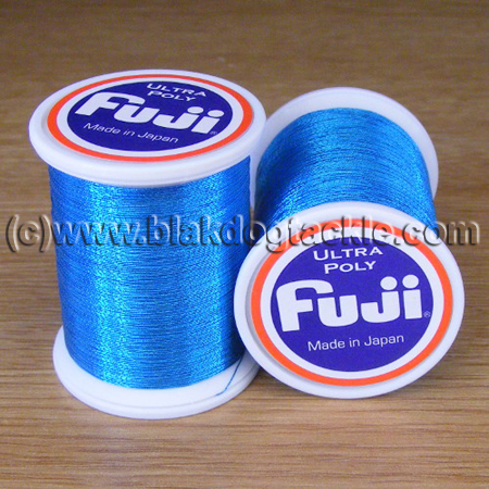 Fuji Ultra Poly Metallic Thread A - Ice Blue