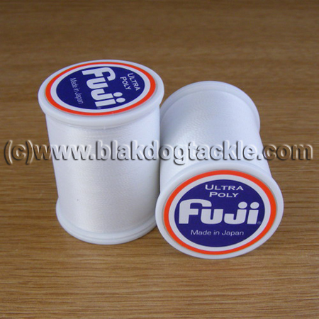Fuji Ultra Poly Thread D - White