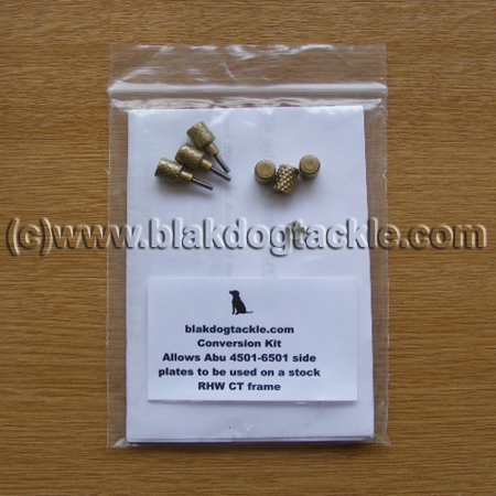 ABU Left Hand Wind Crossover Conversion Kit - Gold