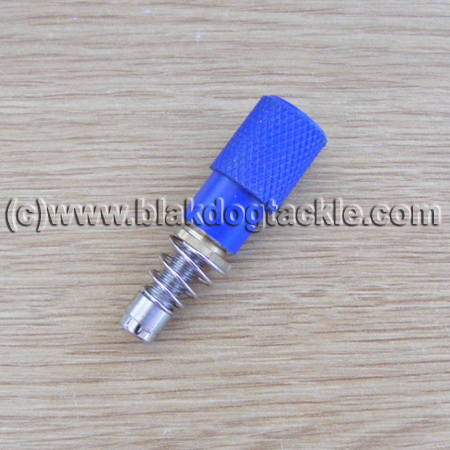 ABU Flat Side Acrylic Fishing Knobby Mag Conversion - Blue