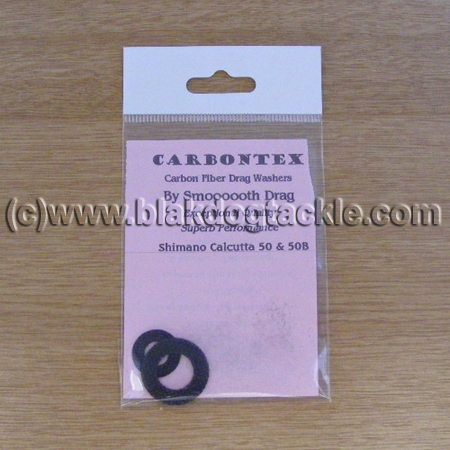 Carbontex Drag Washer Kit - Shimano Calcutta 50 and 50B