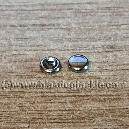 Micro Cage Plugs - Chrome 10 pack