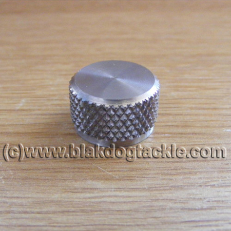 Custom Stainless Steel ABU Ambassadeur Left Side Tension Cap