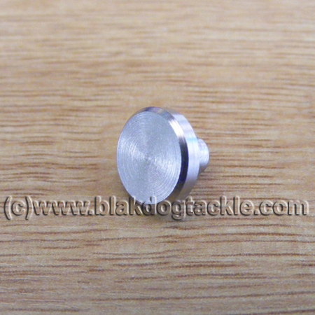 ABU Side Plate Plugs - Stainless Steel