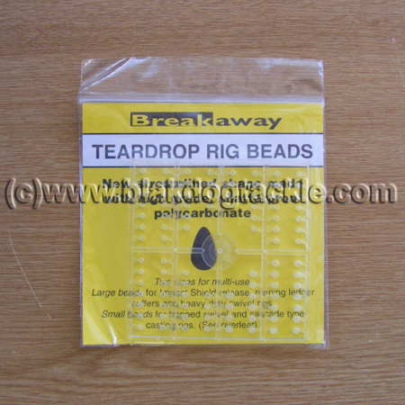 Breakaway Teardrop Rig Beads - black