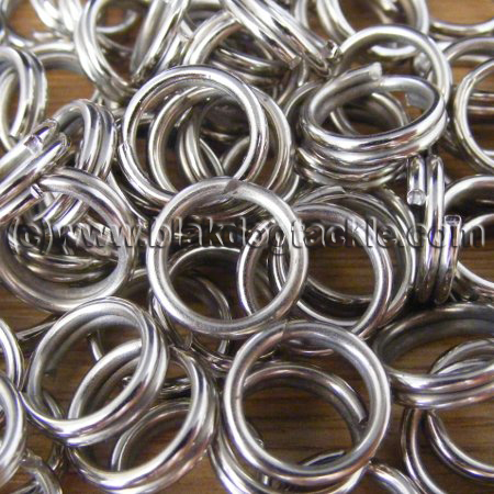 Stainless Steel Split Rings 8mm - Pack of 100