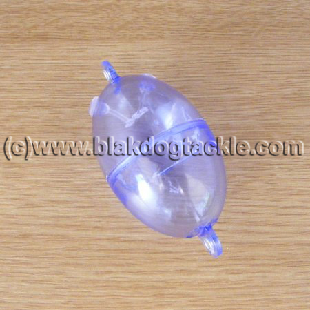 Buldo Clear Oval Bubble Floats - 40g / 40mm