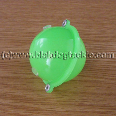 Buldo Green Bubble Float - No3 40mm