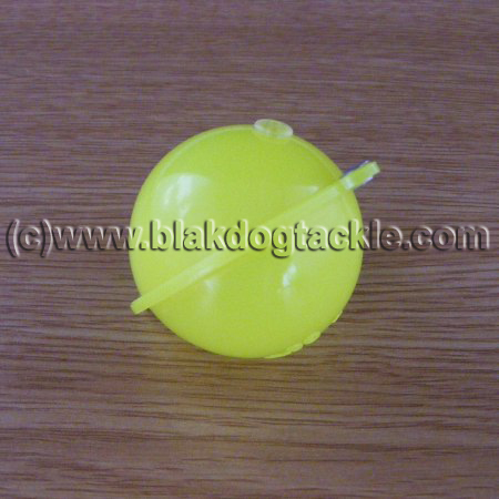 Buldo Yellow Bubble Float - No3 40mm