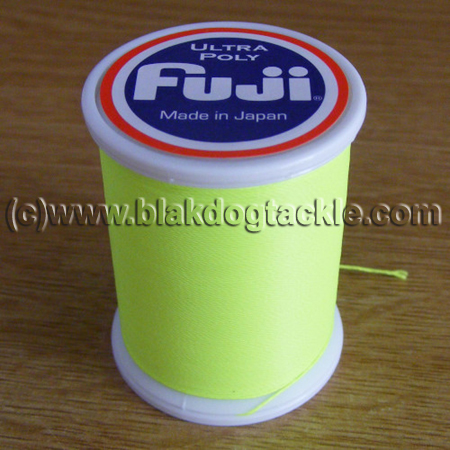 Fuji Ultra Poly NCP Thread D - Neon Green