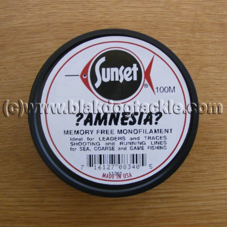 Sunset Amnesia Mono - Black 25lb