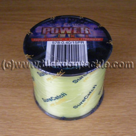 SureCatch Power Mono Line - Yellow 25lb (4oz)
