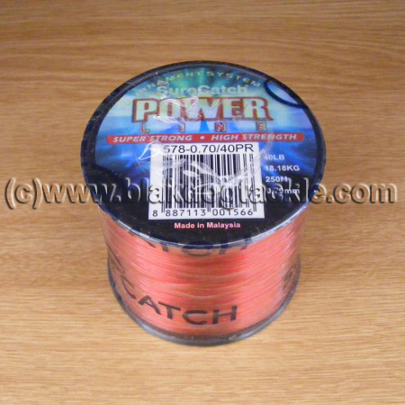 SureCatch Power Mono Line - Red 80lb (4oz)