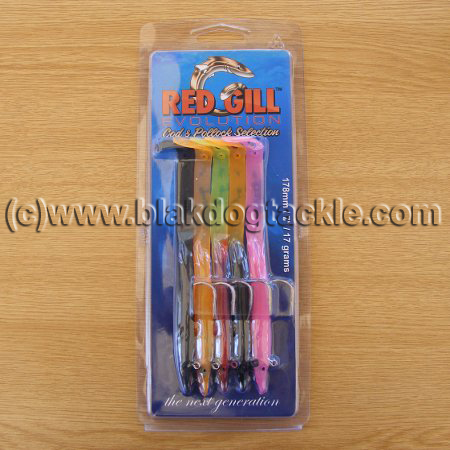 Redgill Evolution Eels - 178mm Cod and Pollack  Collection