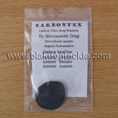 Carbontex Drag Washer Kit - Daiwa Sealine 20/30 Series