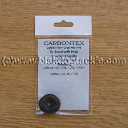 Carbontex Drag Washer Kit - Shimano Calcutta CT400 Triton TSMII