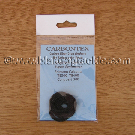 Carbontex Drag Washer Kit - Shimano Calcutta TE300 TE400