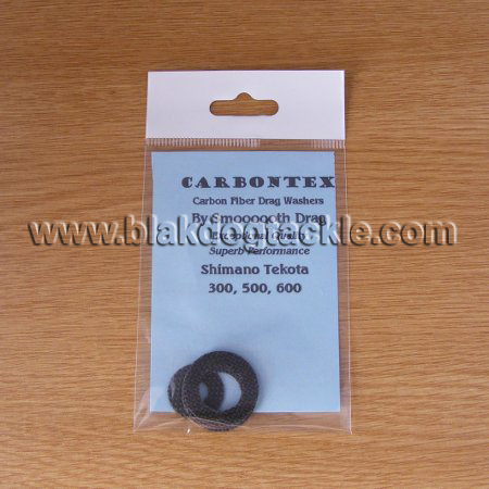 Carbontex Drag Washer Kit - Shimano Tekota 300 500 600