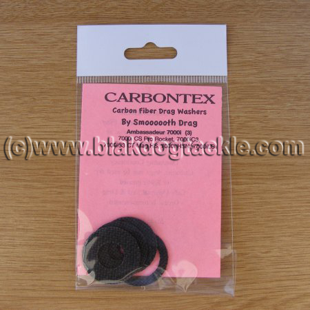 Carbontex Drag Washer Kit - ABU 7000i (4 Washer Type)