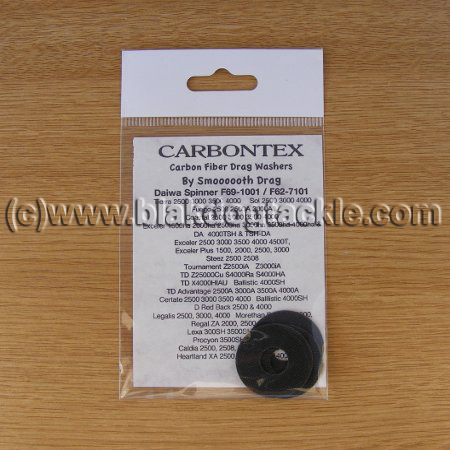 Carbontex Drag Washer Kit - Daiwa Spinner F69-1001 / F62-7101