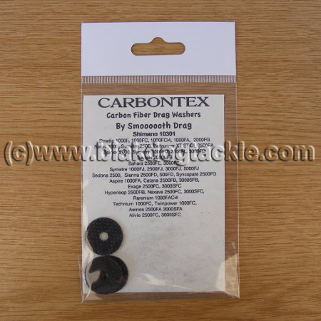 Carbontex Washers - Shimano Spinner 10301