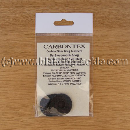 Carbontex Drag Washer Kit - Daiwa Spinner F75-5501