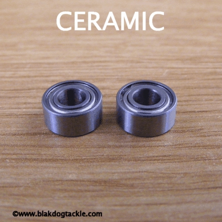 Ceramic Hybrid Replacement ABU Legacy Bearings (3.175x10x4) ABEC