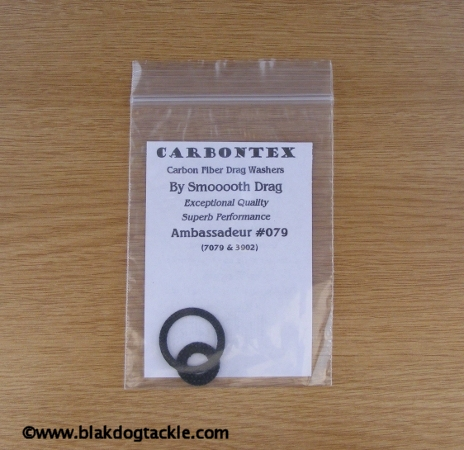 Carbontex Drag Washer Kit - ABU 4/5/6000 1987 and older