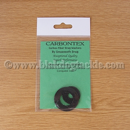 Carbontex Drag Washer Kit - Shimano Calcutta TE100DC