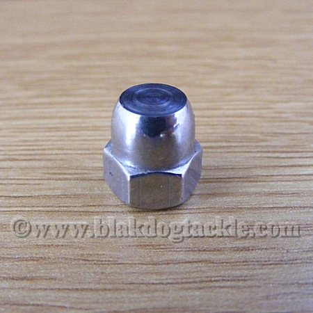 Custom SS Handle Nut for Left Handed Ambassadeurs