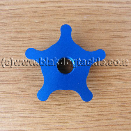 Micro Star Drag Wheels - Blue