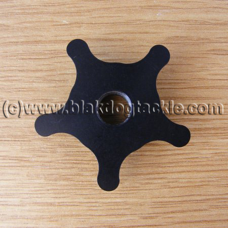 Micro Star Drag Wheels - Black