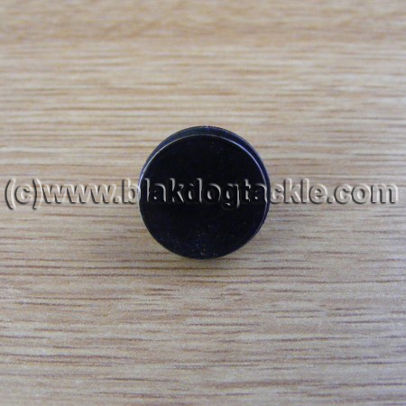 Coloured Side Plate Plug - Black