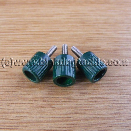 ABU 4500 5500 6500 7000 and Akios Left Side Green Thumbscrews