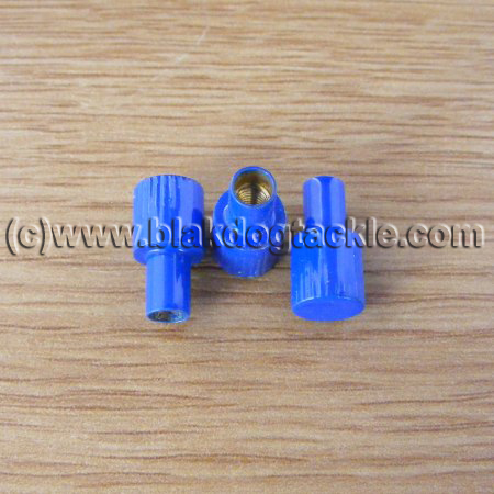 ABU Ambassadeur 4500 5500 6500 Right Side Blue Thumbscrews
