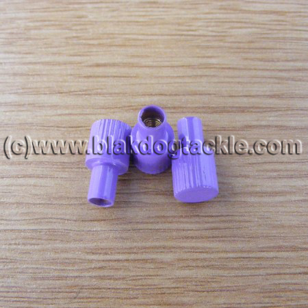ABU Ambassadeur 4500 5500 6500 Right Side Purple Thumbscrews