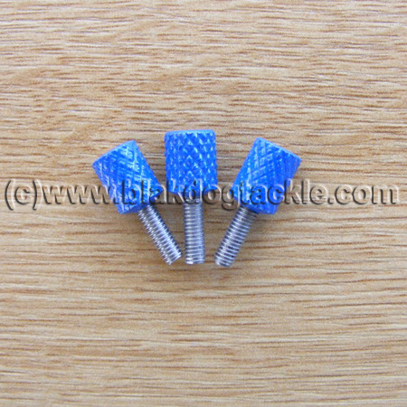 Daiwa 7HT Side Plate Thumbscrews - Blue to fit all models