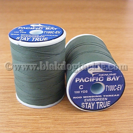 PacBay Stay True Nylon Thread - Evergreen 100 Yards