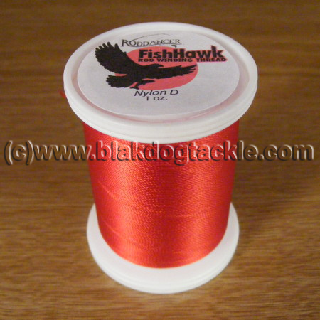 Fish Hawk D Grade Whipping Thread - Scarlet 1oz