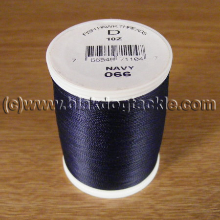 Fish Hawk D Grade Whipping Thread - Navy 1oz